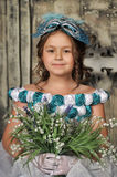 Vintage portrait of girl Royalty Free Stock Photo