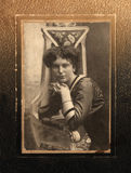 Vintage portrait Stock Photography
