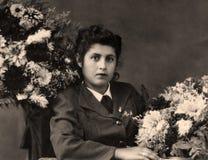 Vintage portrait. Royalty Free Stock Images