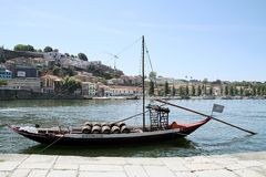 Vintage Portuguese ship Royalty Free Stock Photography