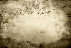 Vintage post card Royalty Free Stock Image
