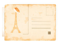 Vintage post card Royalty Free Stock Photography