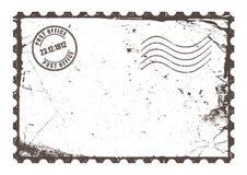 Vintage post card stock illustration
