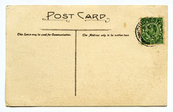 Vintage Post Card Royalty Free Stock Photos