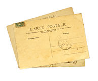 Vintage post cards Stock Image