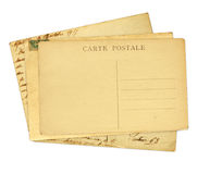 Vintage post cards Royalty Free Stock Photos