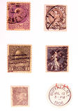 Vintage Postage 2. Photo of Vintage Postage Royalty Free Stock Image