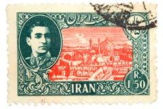 Vintage postage stamp Royalty Free Stock Photo
