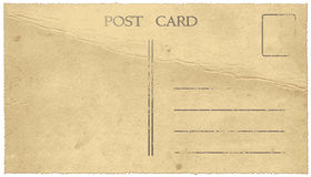 Vintage postcard royalty free illustration
