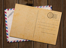 Vintage postcard. Royalty Free Stock Photography