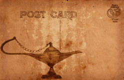 Vintage Postcard Royalty Free Stock Photography