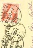 Vintage postcard Stock Photos