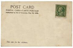 Vintage postcard Royalty Free Stock Photos