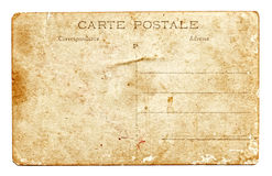 Vintage postcard background Royalty Free Stock Images
