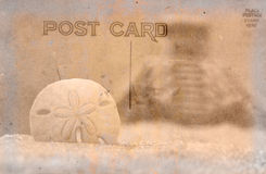 Vintage Postcard Background Royalty Free Stock Photography