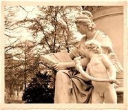 Vintage postcard Stock Image