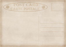 Vintage postcard illustration Royalty Free Stock Image