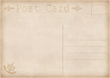 Vintage postcard illustration Stock Photography