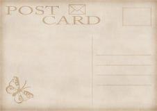 Vintage postcard illustration Royalty Free Stock Images