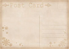 Vintage postcard illustration Royalty Free Stock Images