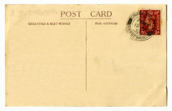 Vintage Postcard Royalty Free Stock Images