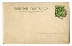 Vintage Postcard Stock Photo