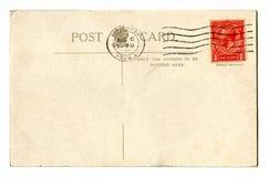 Vintage Postcard. A vintage Postcard over a plain white background Royalty Free Stock Image
