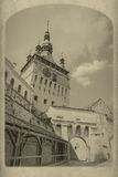 Vintage postcard Royalty Free Stock Photo