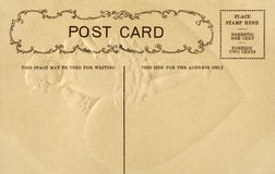 Vintage Postcard with space for writing Royalty Free Stock Photography