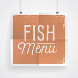Vintage poster for food and drinks Royalty Free Stock Image