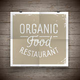 Vintage poster for food and drinks Royalty Free Stock Photos