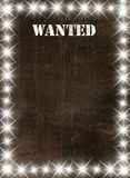 Vintage poster in star light Stock Image