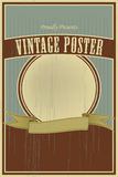 Vintage poster Stock Photos