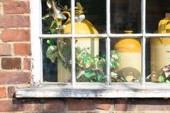 Vintage pots Stock Images