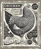Vintage Poultry and Eggs Advertising Page Royalty Free Stock Image