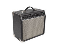 Vintage Practice Amp with Clipping Path Royalty Free Stock Photo