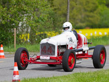 Vintage pre war race carFord Ermer Royalty Free Stock Image