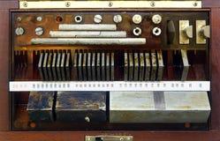 Vintage Precision Tools Stock Photo