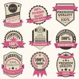 Vintage Premiuim Quality Label Stock Image