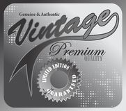 Vintage premium art Royalty Free Stock Images