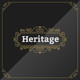 Vintage Premium Label Template Stock Photography