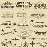 Vintage Premium Qaulity Label Stock Photography