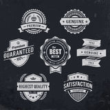 Vintage premium quality labels Royalty Free Stock Photography