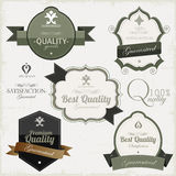 Vintage premium quality and most popular labels. Stock Photo