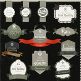 Vintage premium quality and most popular labels. Stock Images