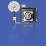 Vintage Press Camera Stock Photos