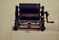 Vintage press machine. Museum of technology Stock Photos
