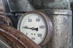 Vintage pressure gauge Stock Image