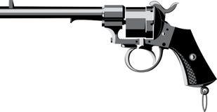 Vintage priming revolver Stock Image