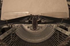 Vintage printing device royalty free stock images